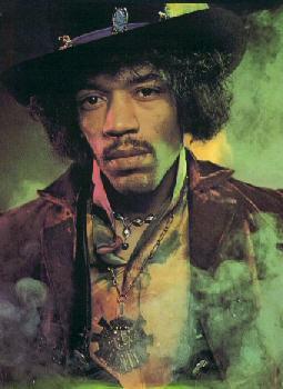 Historia del rock : Jimmy Hendrix